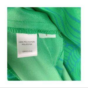LOFT Dresses - Loft Palm Leaf Midi Dress